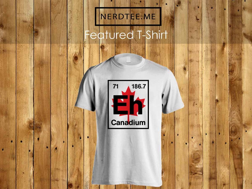 Canadium element t-shirt